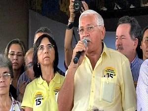 Raimundão foi oficializado como candidato do PMDB (Foto: TV Verdes Mares/ Reprodução)