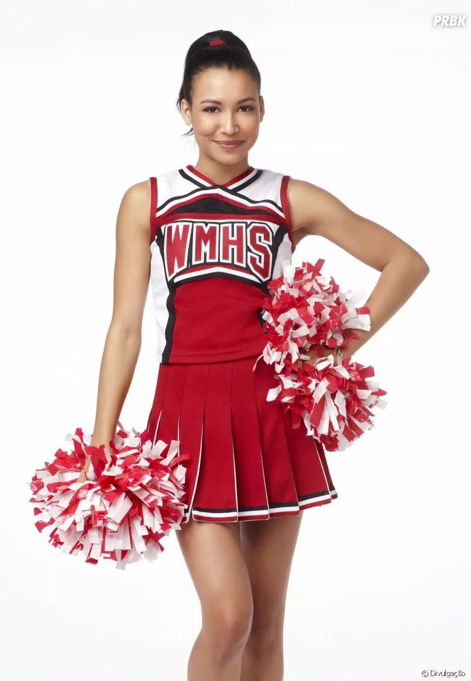 Naya Rivera como Santana, em Glee (Foto: Reprodução/FOX)