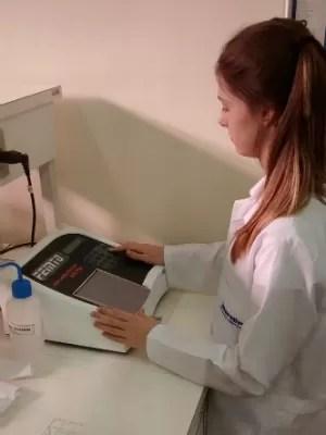 Jovem que estudar farmácia na faculdade (Foto: Arquivo pessoal)