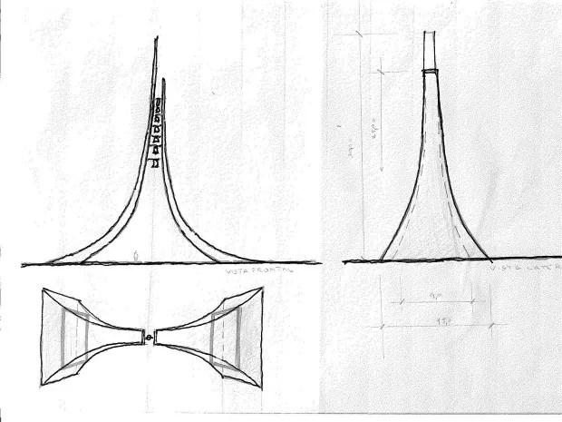 Santuário Nacional terá campanário desenhado por Oscar Niemeyer (Foto: Divulgação/Santuário Nacional)