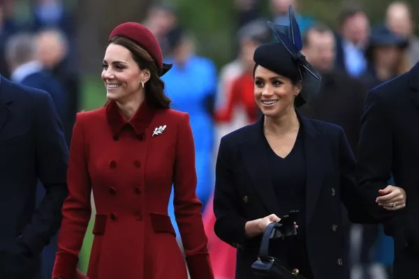 Duchesses Kate Middleton and Meghan Markle (Photo: Getty Images)