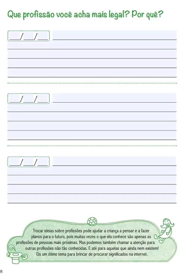 Página do livro 100 perguntas que vão dar o que falar (Foto: Reprodução)