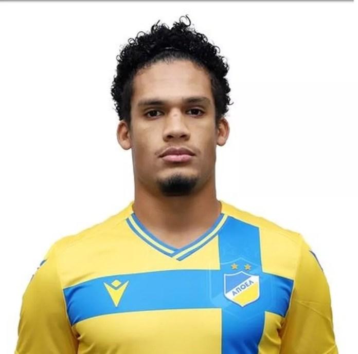 Rafael Santos, zagueiro do Flamengo emprestado ao Apoel — Foto: Reprodução