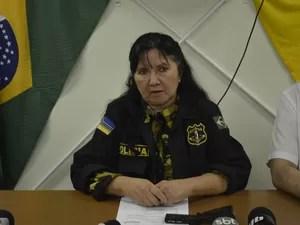 Delegada Elza Nogueira diz não haver dúvidas do envolvimento de Paulo no crime (Foto: John Pacheco/G1)