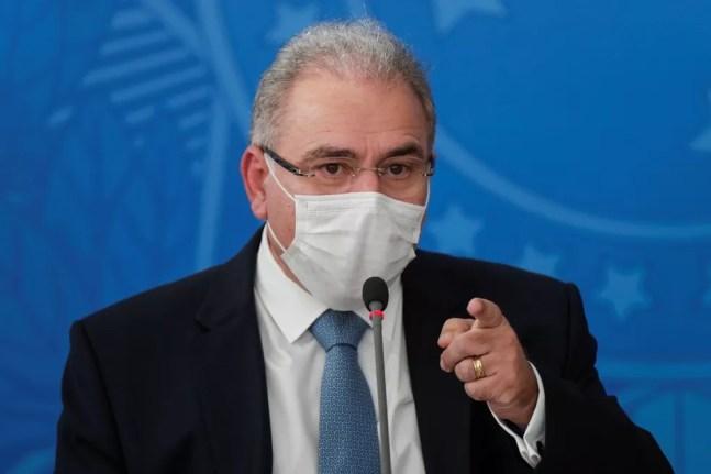 Marcelo Queiroga, ministro da Saúde — Foto: Ueslei Marcelino/Reuters