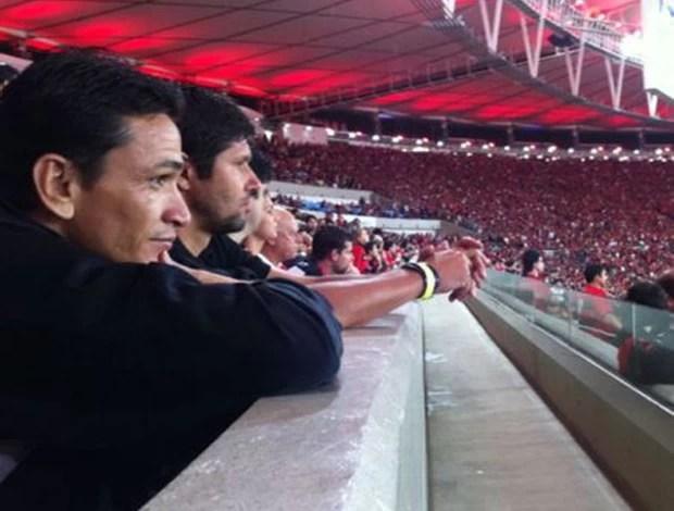 Fabio Luciano e Ronaldo Angelim Flamengo x Goiás (Foto: Master Sports & Mkt)