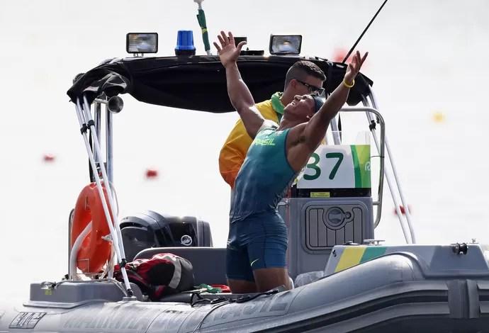 Isaquias Queiroz, canoagem Rio 2016 (Foto: Getty Images)