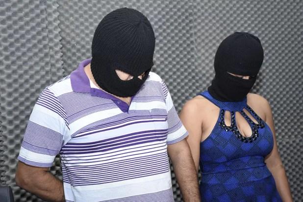 Homem e mulher presos por suspeita de estupro da criança de 7 meses (Foto: Polícia Civil/Divulgação)