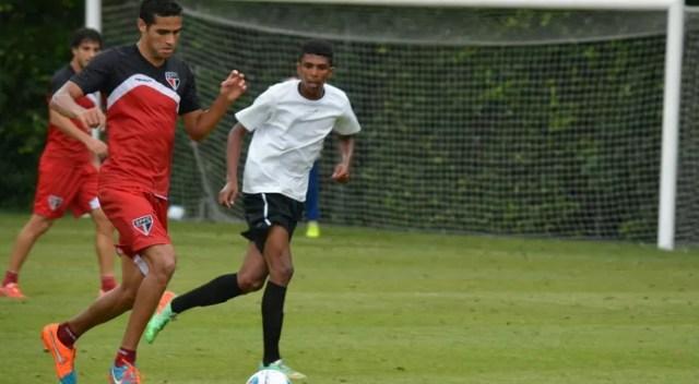 Alan Kardec São Paulo (Foto: Site oficial SPFC)