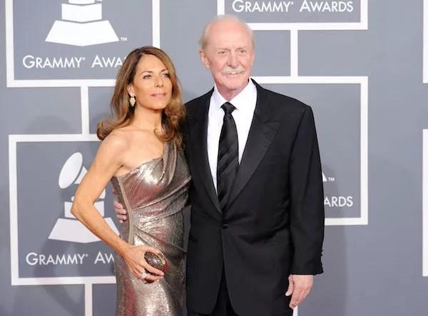 O baterista do grupo Allman Brothers, Butch Trucks, com sua esposa, Melinda (Foto: Getty Images)