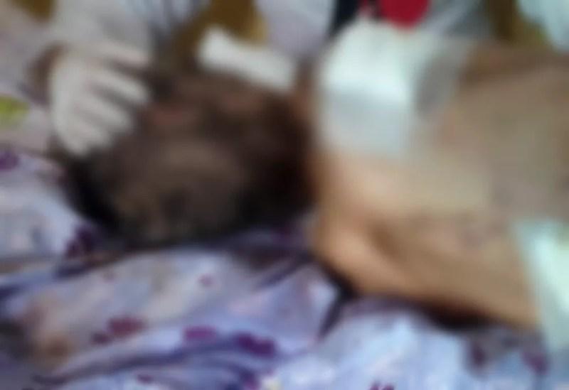 Idosa é encontrada ferida, suja e em condições insalubres em casa no DF — Foto: Polícia Civil/Divulgação