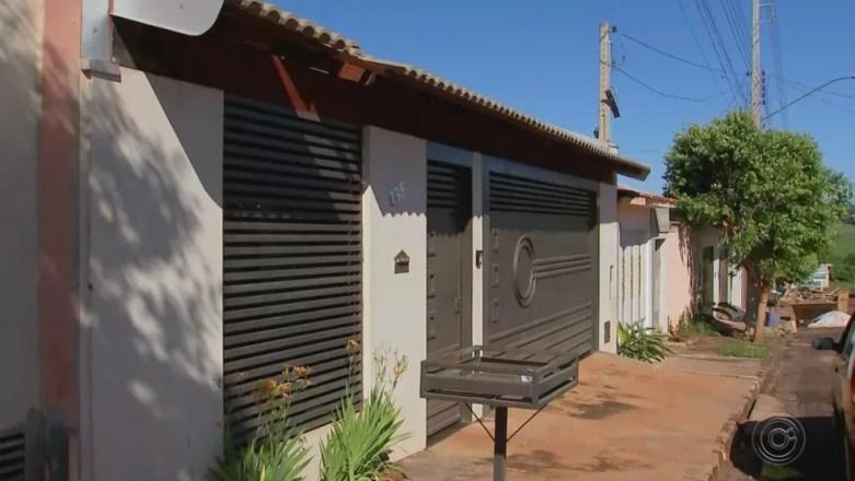 Crime aconteceu na casa do casal em Borborema — Foto: Reprodução/TV TEM