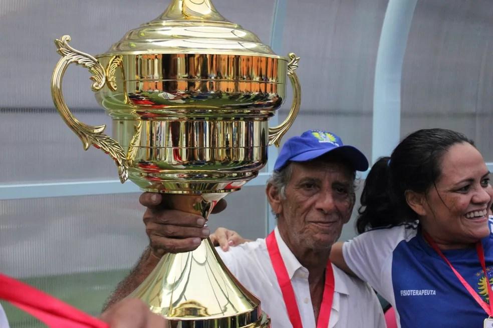 Aderbal Lana foi campeão pelo Nacional, em 2015, na última vez em que chegou à decisão do Barezão (Foto: Marcos dantas)