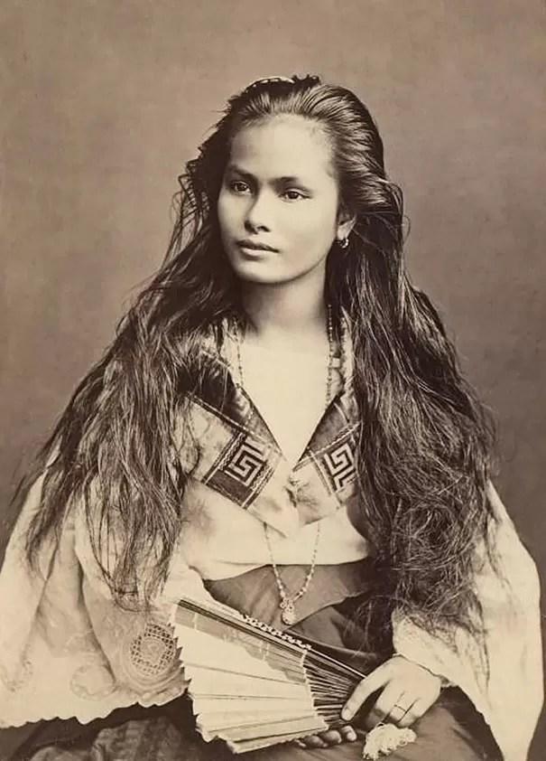 Mulher de Filipinas (Foto: Flickr)