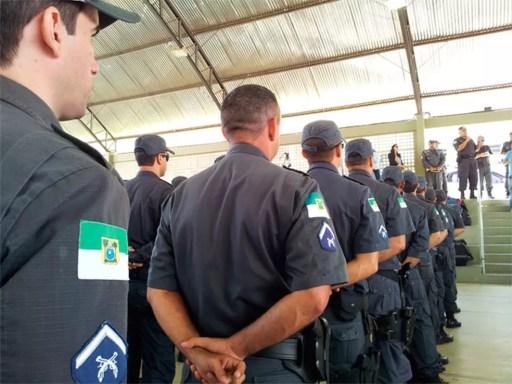 Policiais militares do Rio Grande do Norte (Foto: PM/Divulgação)