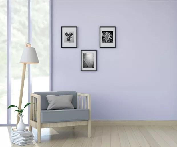 Azul em tom acinzentado é eleito a cor de 2018 da Lukscolor (Foto: Divulgação)