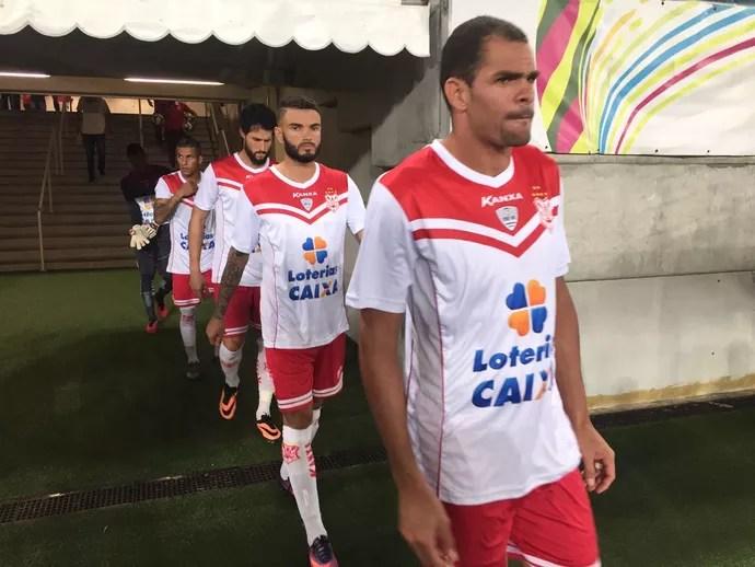 Wallace Pernambucano deixa o Sergipe (Foto: Gleyson Prado)