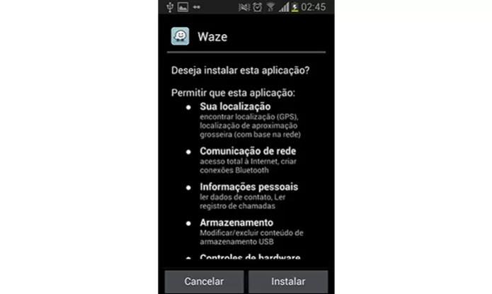 No final basta escolher 'Instalar' e o app será instalados no Android (Foto: Reprodução)