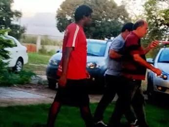 Professores foram presos por estuprarem 10 alunos de escola de futebol em Cuiabá. (Foto: Polícia Civil/MT)
