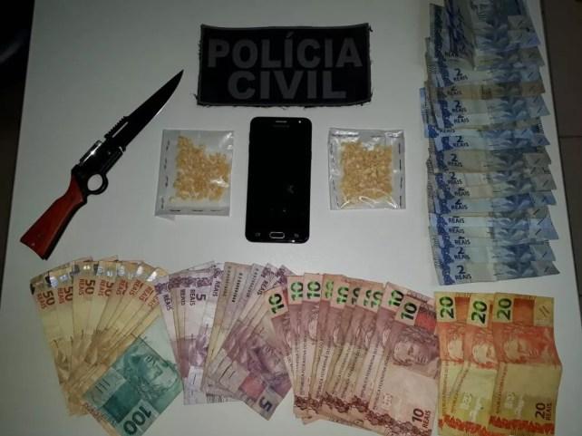 Apreensão em Cabrobó, PE — Foto: Divulgação/ Polícia Civil