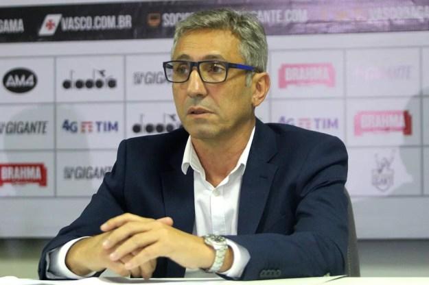 Alexandre Campello, presidente do Vasco — Foto: Paulo Fernandes/Vasco