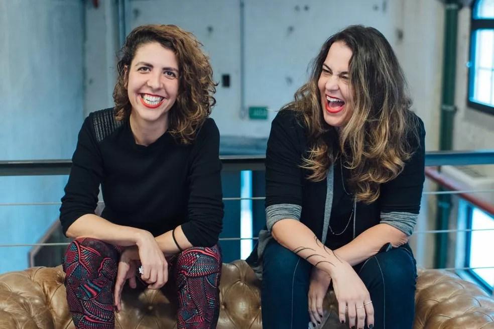 Ana Laura Castro e Viviane Abukater, fundadoras do Maternativa — Foto: Maternativa/ Divulgação