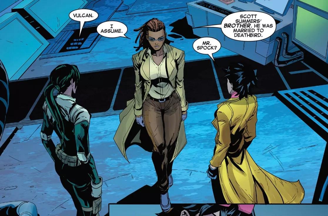 A personagem Cecilia Reyes nos quadrinhos (Foto: reprodução)