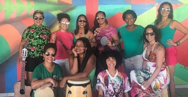 Mulheres na Roda de Samba Maceió — Foto: Divulgação