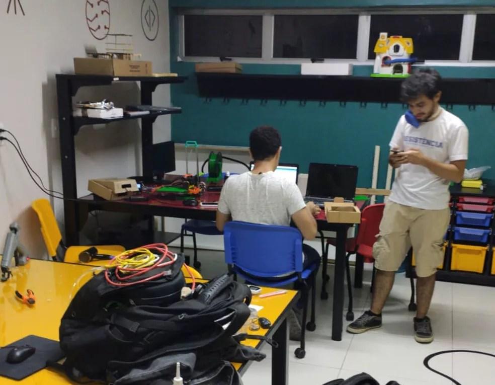 Pesquisadores do Piauí desenvolvem técnica que multiplica o uso de ventiladores mecânicos para até quatro pacientes — Foto: Divulgação/ Equipe Pulmonar