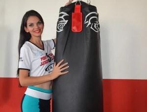 Jéssica Vanessa de Almeida Amador, de 22 anos (Foto: Lauane Sena)