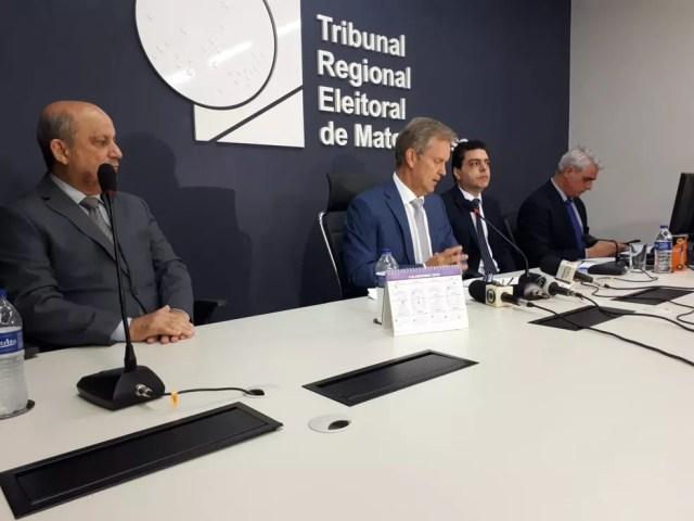 Tribunal foi oficialmente comunicado da decisão com a determinação da realização de nova eleição. — Foto: Luiz Gonzaga Neto/TVCA