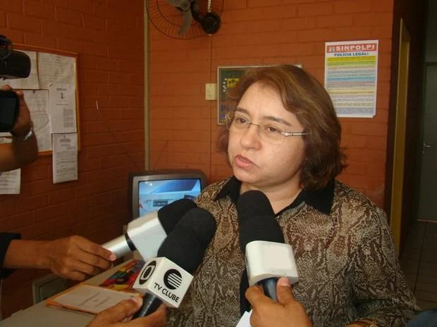 A delegada Rejane Piauilino declarou que a criança será atendida pelo Cras (Foto: Catarina Costa)