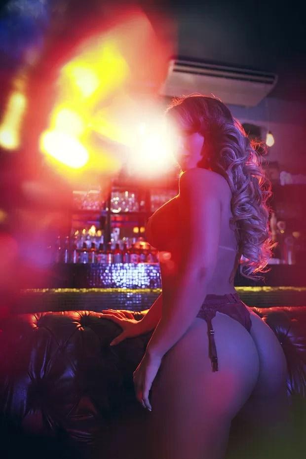 Geisy Arruda na revista Sexy de abril (Foto: Daniel Aratangy/ Revista Sexy)
