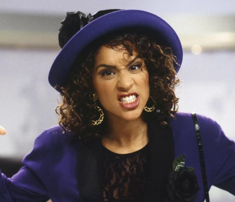 Karyn Parsons em cena de 'Um Maluco no Pedaço' (1990 - 1996) (Foto: Divulgação)