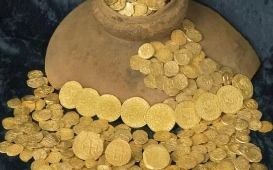 Moedas de ouro (imagem meramente ilustrativa)