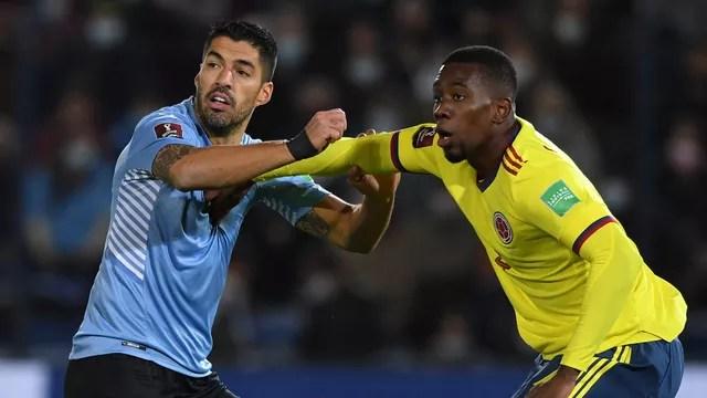 Uruguai, de Suárez, e Colômbia, de Cuesta, ficam no empate em Montevidéu