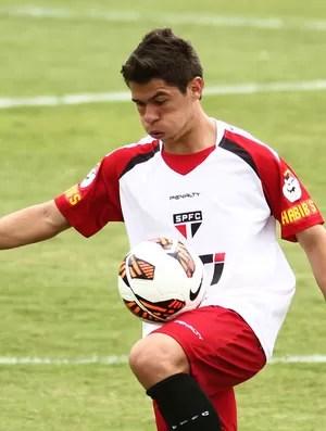 Osvaldo treino São Paulo (Foto: Roberto Vazquez / Ag. Estado)