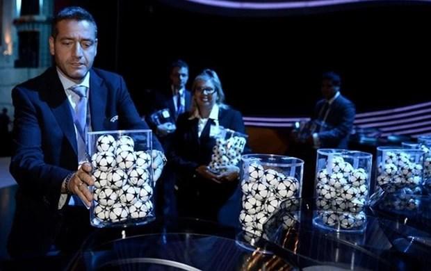 bolinhas uefa sorteio (Foto: Getty Images)