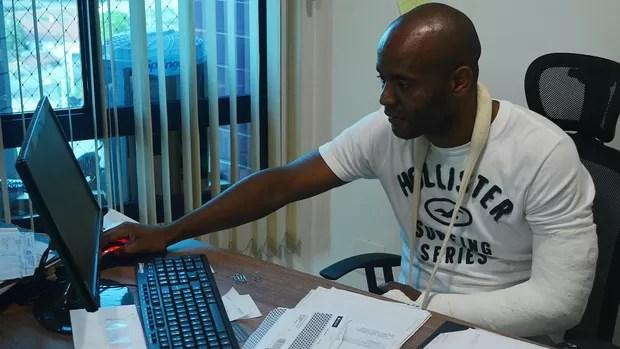 Flávio Conceição - ex-jogador (Foto: Guto Marchiori/Globoesporte.com)