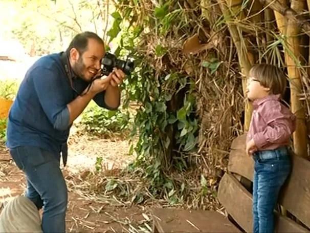 Empresário faz sessão de fotos com crianças e adolescentes com Síndrome de Down; Como Será? (Foto: Globo)