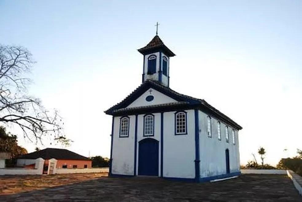 Capela de Santa Rita é tombada pelo patrimônio municipal de Diamantina — Foto: Reprodução/Redes sociais