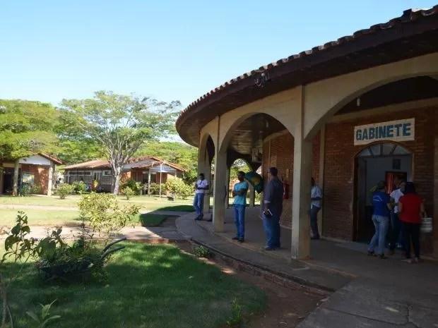 PF e  MPF investigam suposto desvio de verbas da União, na prefeitura de Vilhena (RO), região do Cone Sul (Foto: Eliete Marques/G1)
