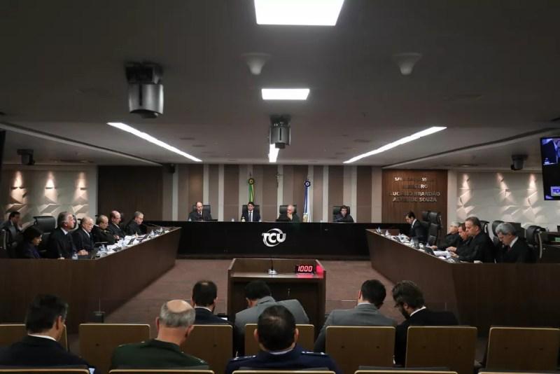 O plenário do Tribunal de Contas da União (TCU) — Foto: Divulgação/TCU