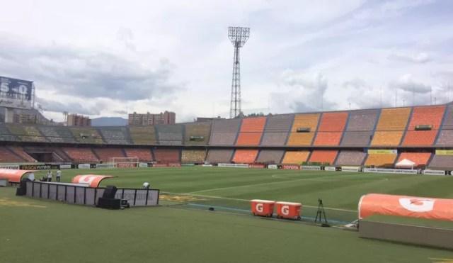 Estádio Atanásio Girardot Medellín Colômbia (Foto: Marcelo Hazan)