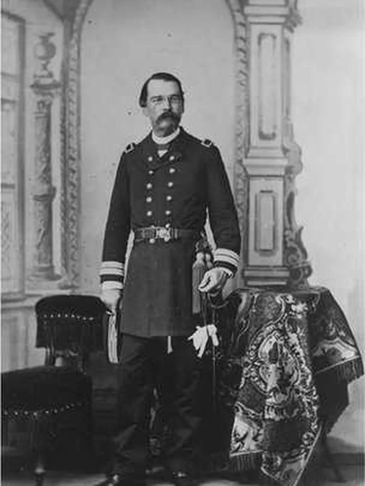 Benjamin Constant, o articulador do lema Ordem e Progresso na bandeira brasileira — Foto: Arquivo Nacional