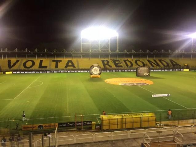 Raulino de Oliveira; Volta Redonda x Cruzeiro (Foto: Vinícius Lima)
