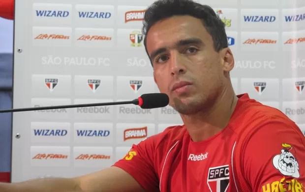 Jadson, meia do São Paulo (Foto: Rodrigo Faber/Globoesporte.com)