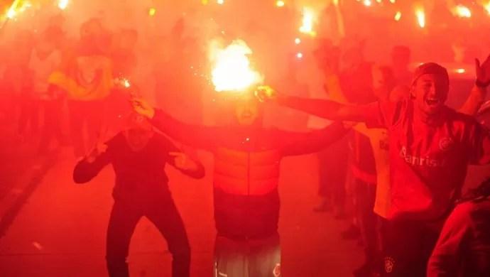 Internacional x Santos Inter Beira-Rio Inte ruas de fogo (Foto: Ricardo Duarte/ Divulgação Inter)