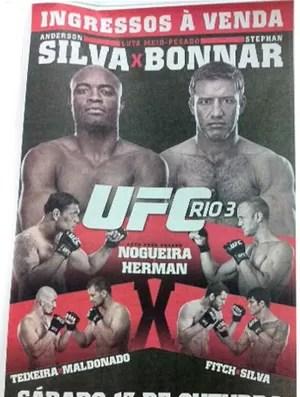 Cartas UFC (Foto: Reprodução)