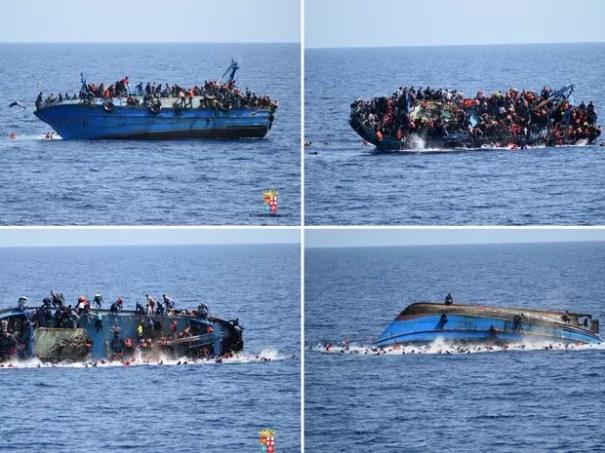 Resultado de imagem para imigrantes via mar